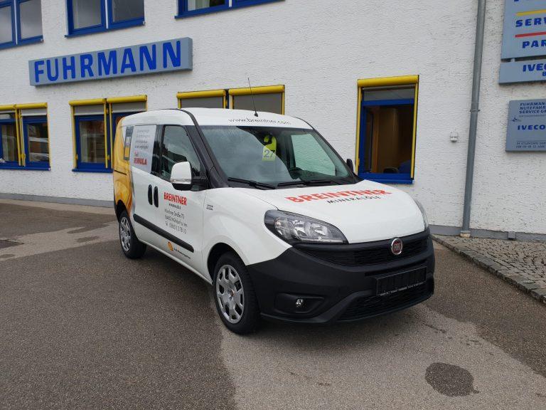 Schnelle Mineralöllieferung – Fiat Doblo Cargo Kastenwagen