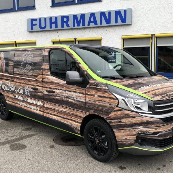 Hüttenbau – Fiat Talento Kombi Family L2H1