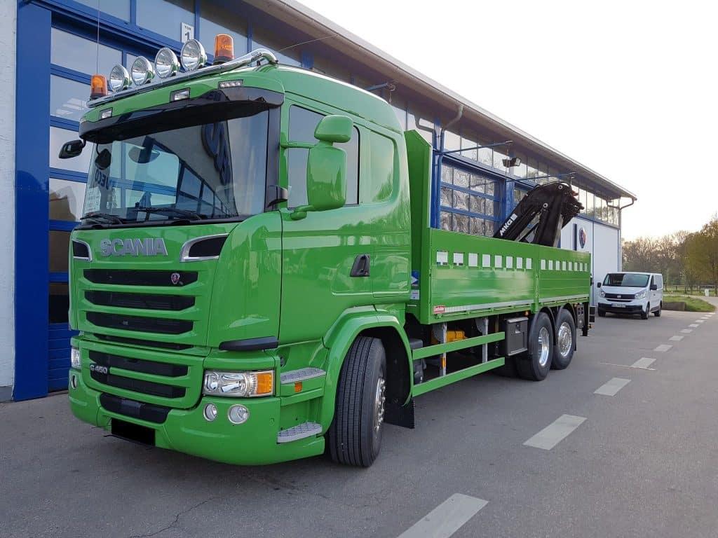 Baustoffzug- Scania G450 LB6x2