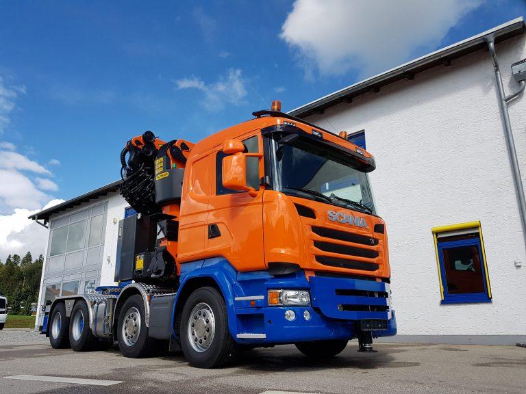 Kranfahrzeug – Scania G450