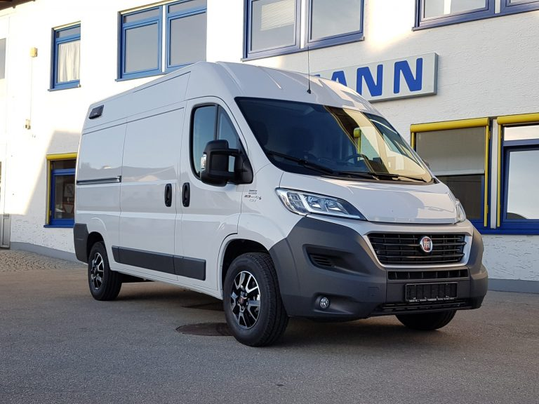 Heizung- und Sanitärfahrzeug – Fiat Ducato mit Sortimo-Ausbau