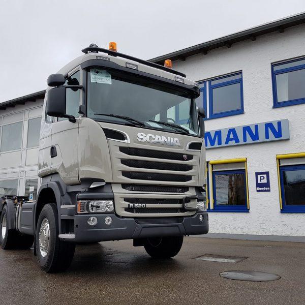 Erd- und Abbrucharbeiten – Scania R-Reihe