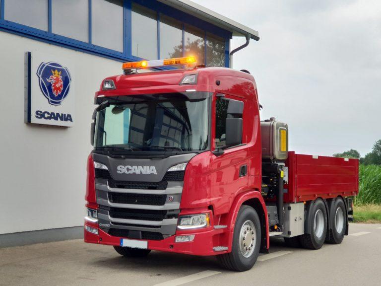 Baufahrzeug – Scania G500