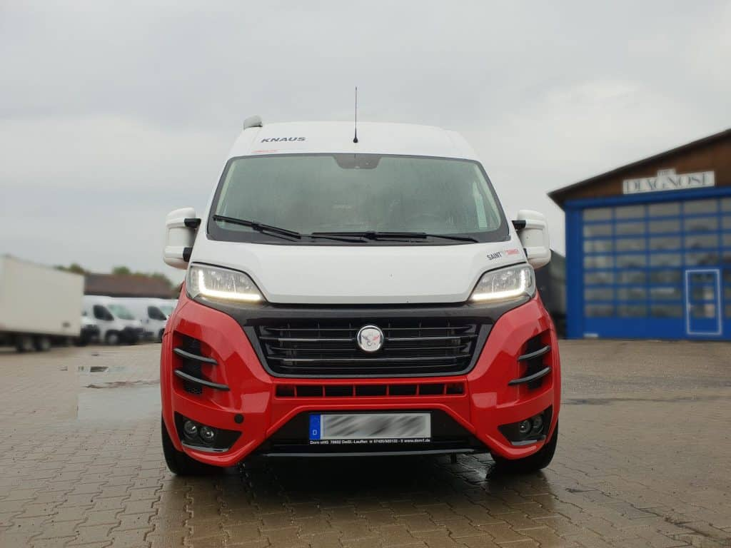 Wohnmobilveredelung – Fiat Ducato Saint and Sinner