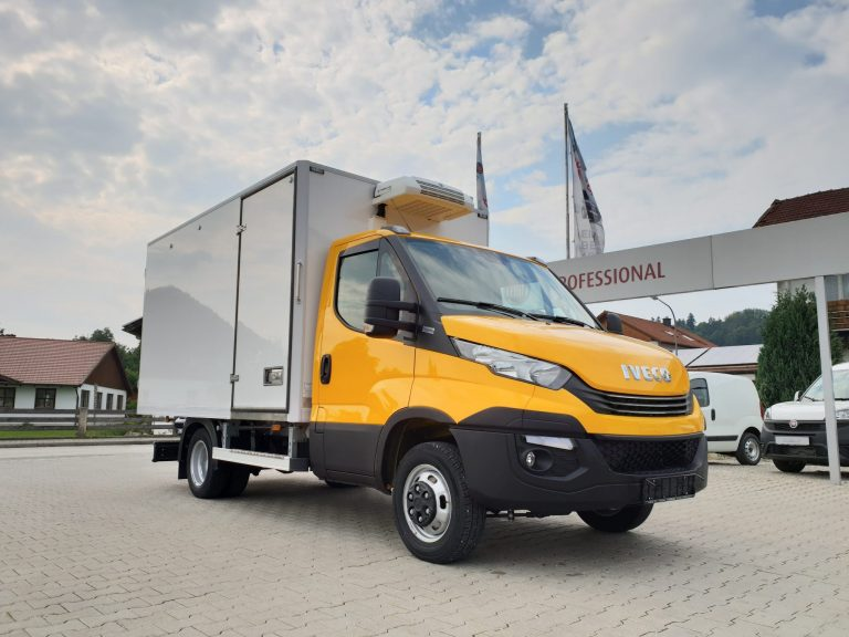 Biohof – Iveco Daily mit Fuhrmann-Kühlkoffer