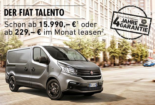 Angebot Fiat Talento
