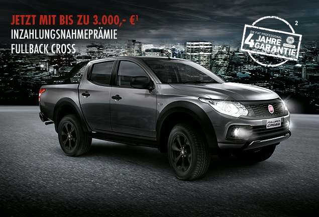 Fiat Fullback Cross Inzahlungnahme