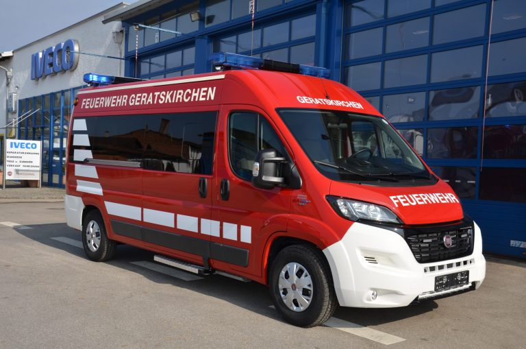 Feuerwehr – Ducato Modular Mannschaftswagen