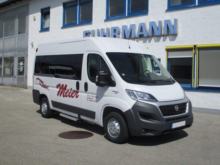 Schulbusverkehr mit Rollstuhl – Ducato Modular