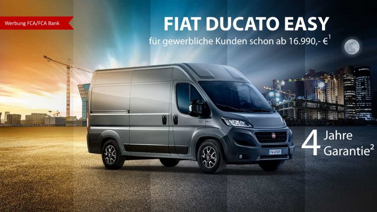 Easy Angebot Fiat Ducato
