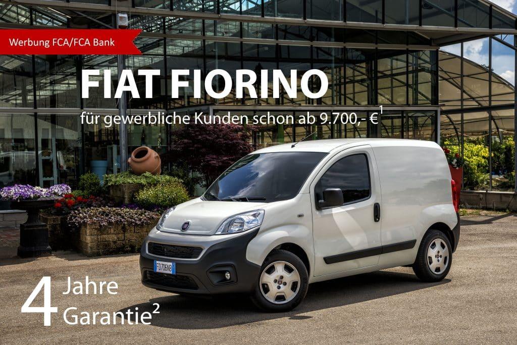Fiat Fiorino Kastenmwagen Angebot Flat