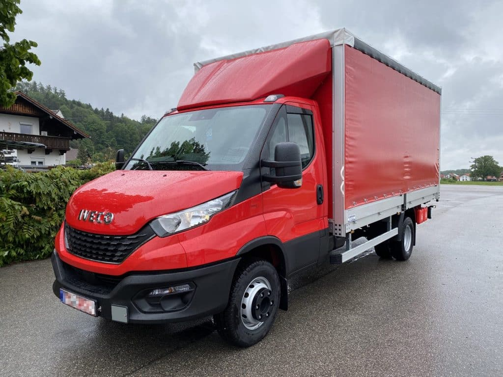 Iveco Daily Fahrgestell - Pritsche/Plane/Spriegel