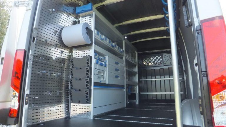 Sortimomobil – Iveco Daily Kastenwagen