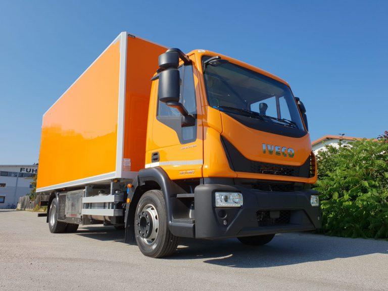 Kanalsanierung – Iveco Eurocargo mit Fuhrmann Kofferaufbau