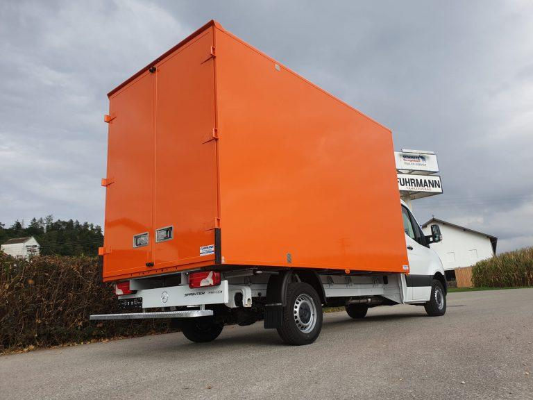 Möbelkoffer – Mercedes Sprinter mit Fuhrmann Kofferaufbau individuell