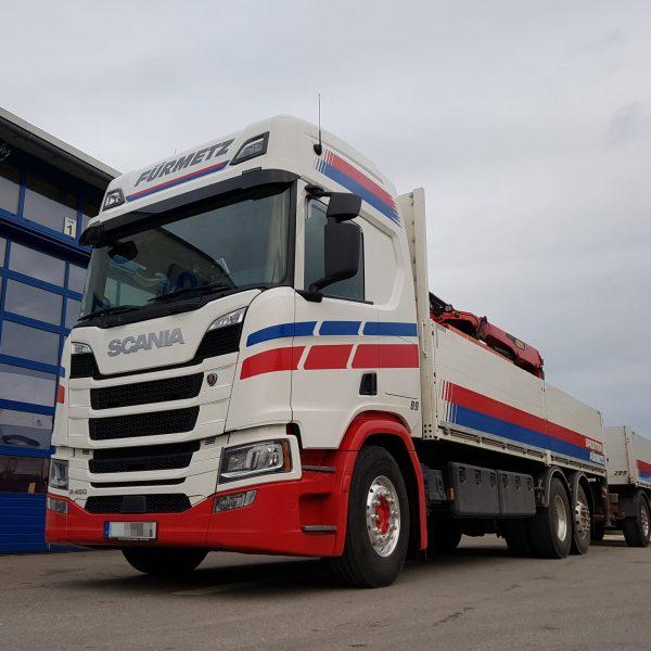 Baustofflogistik – Scania R-Reihe