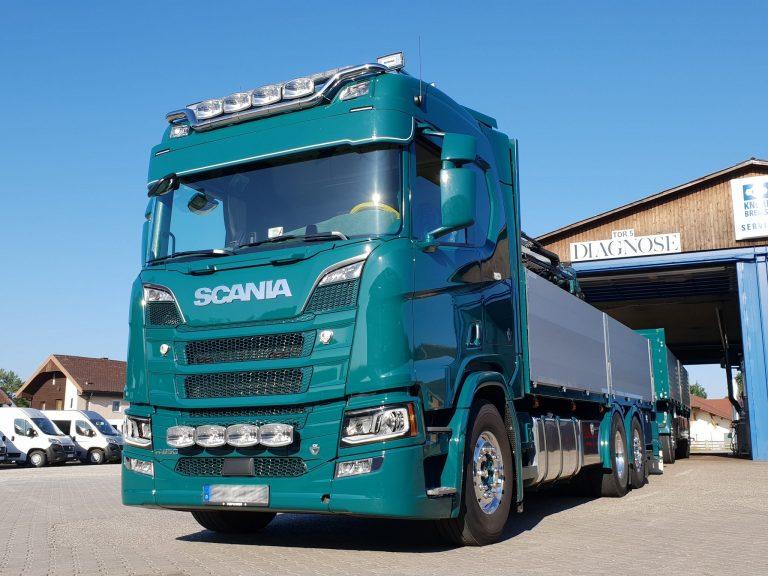 Baustoffe – Scania R650