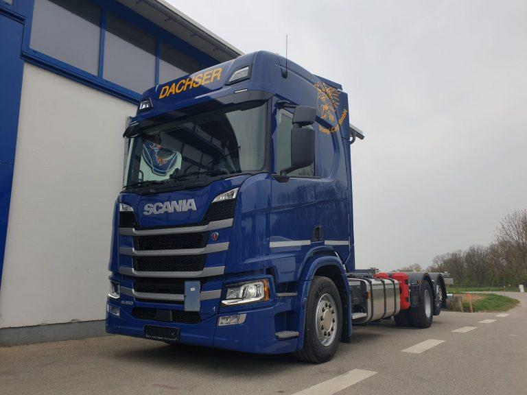 Wechselbrücke – Scania R-Reihe R450