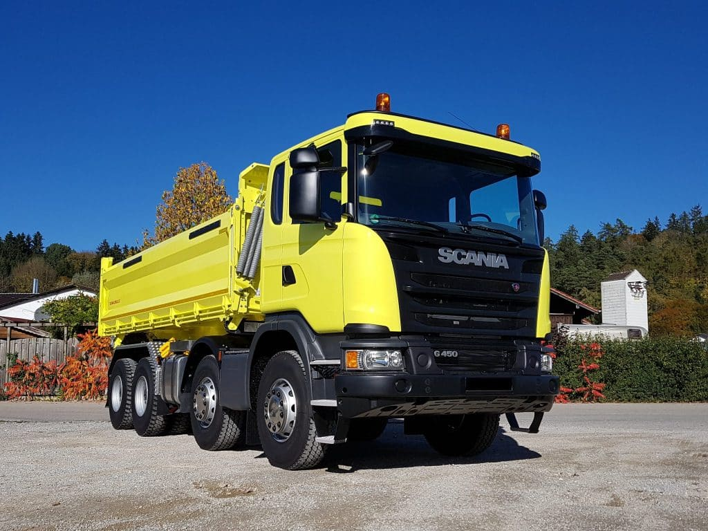 Scania G-Reihe G450 CB8X4MHZ