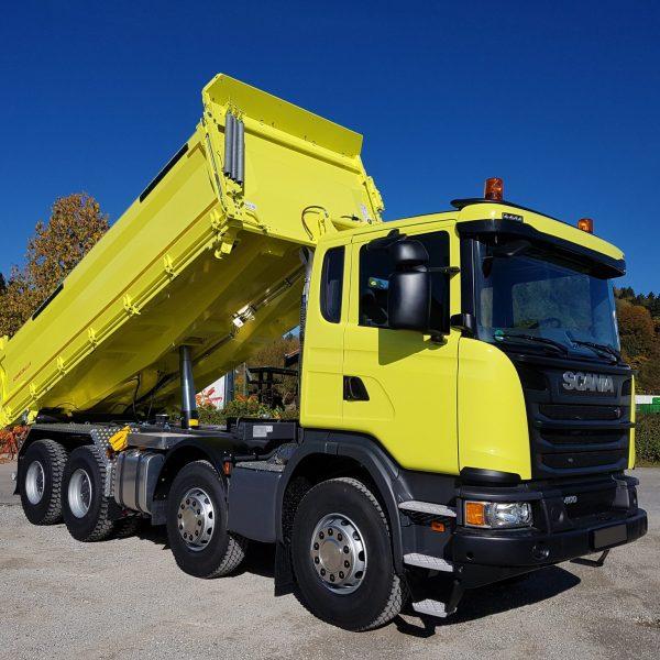 Erdbau – Scania G-Reihe