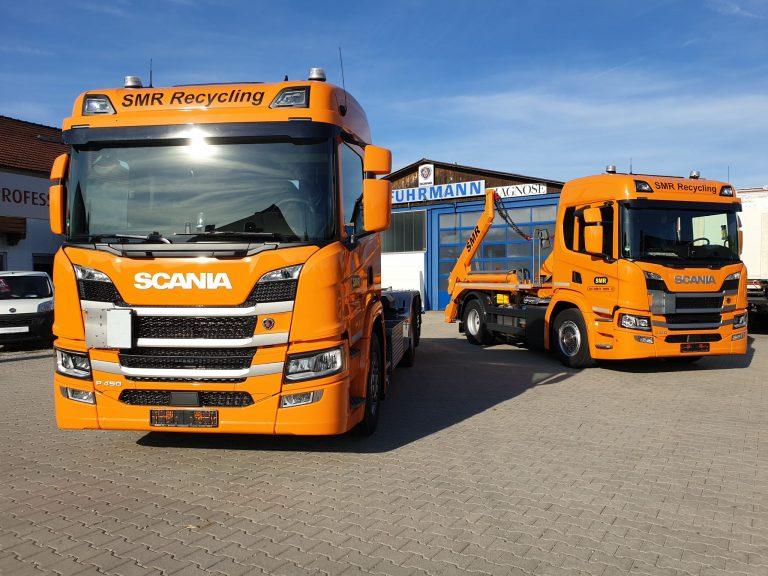 Recycling – Scania P-Reihe P450 und P410