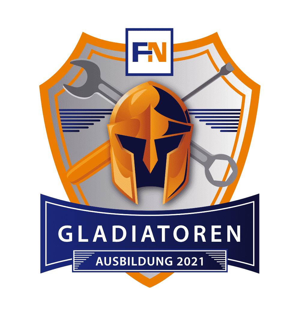 Fuhrmann Azubis Gladiatoren Logo