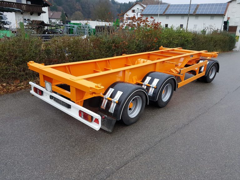 Restauration – Container-Chassis
