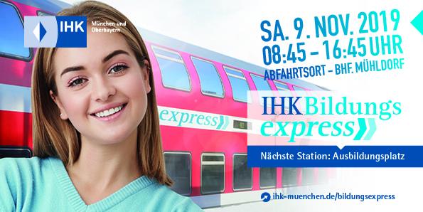 IHK Bildungsexpress 2019 mit Fuhrmann Nutzfahrzeuge